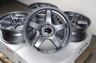 Gun Metal Wheels Celica Neon Camry Fusion Mazda 3 6 5 Lug Rims