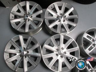 Four 09 12 Ford Flex Factory 18 Wheels Rims 3769 AE93 1007 FA