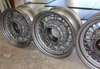 Wheels 16 x 7 5 on 5 5 Bolt Pattern 52 Spokes Brand New Wire Rims