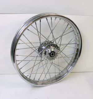 Spoke Front Wheel 21 x 2 15 for Harley Sportster XL FXR 84 99