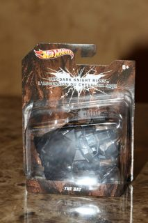Hot Wheels Batman The Dark Knight Rises The Bat Diecast 1 50th Scale