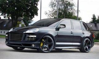 22x10 Black Porsche Cayenne GTS s 5x130 53 Rim Wheels