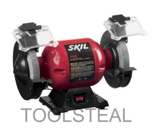 Skil 3380 01 6 Bench Grinder with Light with Warranty