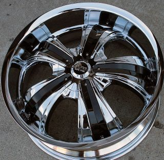 RVM 661 20 Chrome Rims Wheels GMC Terrain Equinox