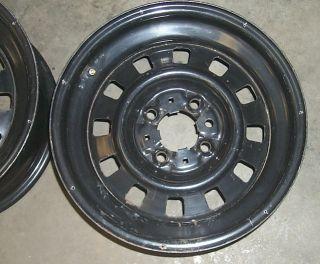 15x7 Steel Wheels 1986 86 Ford Mustang Police Interceptor Package