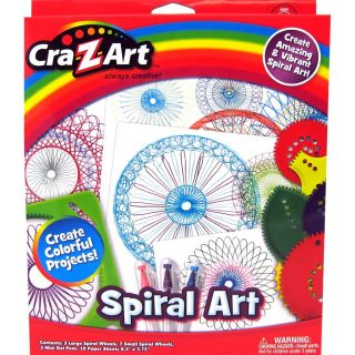 Colorful Pencil Marker Crayon Drawing Design Spiral Wheels Cra Z Art