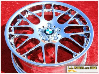BMW E46 M3 Competition 19 inch Chrome Wheels Rims