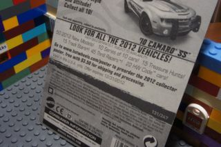 Hot Wheels White 10 CHEVY CAMARO SS HWPD Police   HW City Works #1/10
