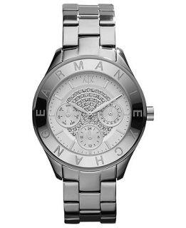 Armani Exchange Watch, Womens Stainless Steel Bracelet 38mm