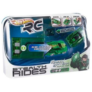 Hot Wheels RC Stealth Rides Green Lantern Racing Car