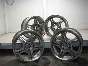 Set of 4 American Racing Aluminum 15 Wheels LKQ PT Cruiser