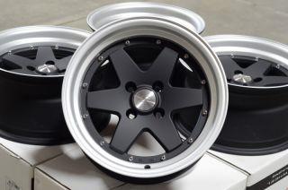 Rims Integra Civic Lancer Jetta Miata Low Offset 4 Lug Wheels