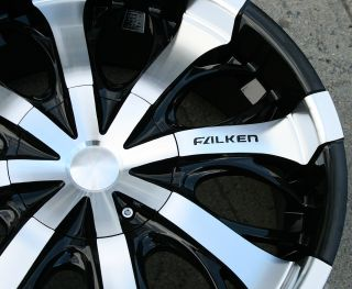 Falken Solaris 20 Black Rims Wheels Toyota 4Runner 94 Up 20 x 8 5 6H