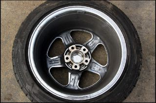 ROUSH FORD MUSTANG WHEEL 17 X 9 W/ TIRE FITS 94   98 99 00 01 02 03 04