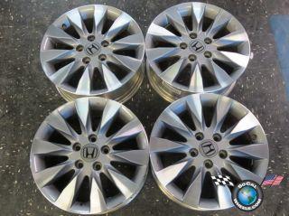 Four 09 11 Honda Civic Factory 16 Wheels Rims 63995 42700SNAA72