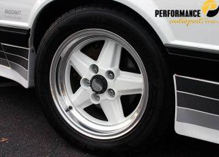 Mustang Saleen Wheels ~ 5 spoke ~ 16x8 ~ 89 91 ~ SUPER RARE ~ LQQK