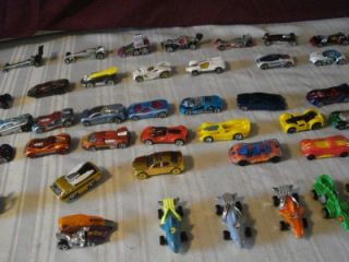 Lot of 62 Hot Wheels Concept Cars with Animal Cars Pop Cycle from 1980