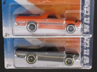 Hot Wheels 68 El Camino 2011 Factory SEALED Master Set 1 64 Scale 2