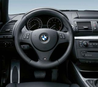 BMW Genuine M Steering Wheel Cover Trim Black 1/3 Series X1