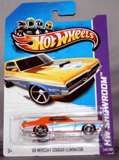 Hot Wheels Showroom 69 Mercury Cougar Eliminator