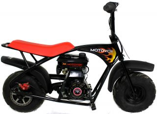 Motovox MBX10 79 5cc 2 5HP Gas 4 Stroke Powered Mini Bike Motorcycle