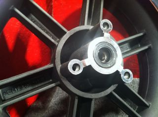 Nice NEW Chinese GY6 Front Wheel Rim 6 Spoke 12x3.50 3.50 12 @ Moped
