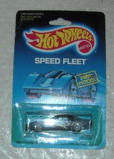 Mattel 1988 Hot Wheels New Model Speed Fleet 80s Firebird Diecast