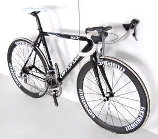 Six Carbon Road Bike New Carbon Deep Dish Race Wheels Shimano