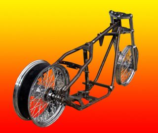 Chopper Rolling Chassis Frame Wheels Fis Harley Engine