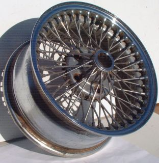 84 85 86 87 88 89 90 Jaguar XJS XJ6 Dayton Wire Wheel Rim