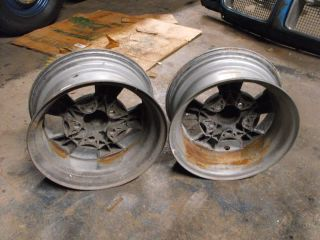 Vintage Torque Thrust Wheels 14x6 Ford Mopar AMC 4 1 2 BP Mustang