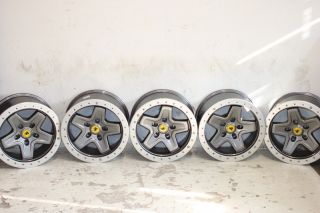aev Argent Pintler Beadlock Wheels 17x8 5 5x4 5 87 06 Jeep Wrangler