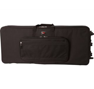 88 XL NEW LIGHTWEIGHT KEYBOARD CASE EXTRA LONG FOR 88 NOTES W/ WHEELS