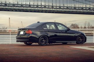 BMW E60 M5 Avant Garde M310 Concave Black Staggered Wheels Rims