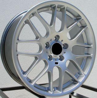 18x8 CSL STYLE 5X120 +37 SILVER WHEEL FIT BMW E83 X3 E46 E90 325 328