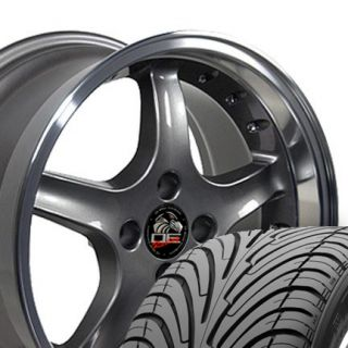 Anthracite Cobra Wheels Nexen Tires Rims Fit Mustang® 79 93