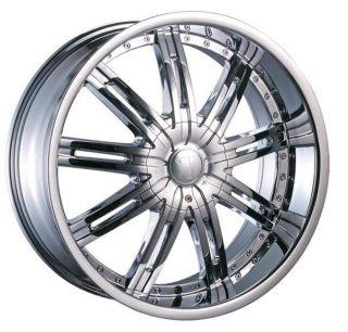 24 inch Rims Tire Pkg 5x114 3 5x115 5x120 Velocity 800