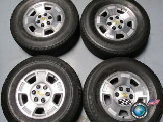 99 09 Chevy Tahoe Silverado Factory 17 Wheels Tires Rims 5299 Suburban