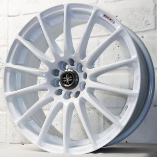 COUPE JOHN COOPER WORKS WOLFRACE PROLITE WHITE WHEELS & TYRES 4x100
