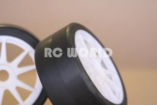 RC 1 8 Car Buggy Truck Tires Wheels Rims Slicks Package