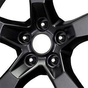 New 20x9 5x120 Replica Camaro SS Black Wheels Rims
