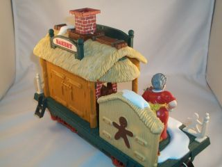 New Bright Holiday Express Animated Train Set Bakery Car NBR384 3