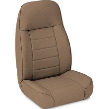 Smittybilt 44917 Jeep 76 02 CJ Wrangler Standard Bucket Seat Denim