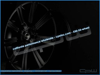 24 Land Range Rover Wheels Matte Black Rims Supercharged HSE Sport