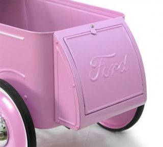 1932 32 Pink Ford Coupe Roadster Pedal Car Free SHIP