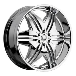 20 inch Devino Verve Chrome Wheels Rims 5x4 75 5x120 65