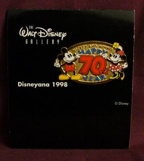 WDW 1998 Disneyana Convention Disney Gallery Mickey Minnie Mouse Le