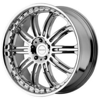 22x9 5 Chrome Wheels Rims KMC KM127 6x5 5