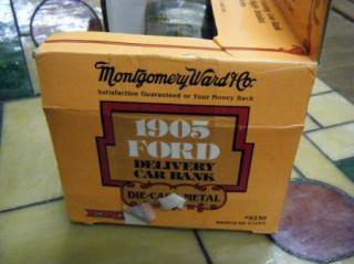 Ertl Montgomery Ward 1905 Delivery Car Bank 9230