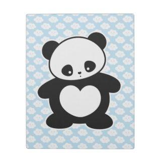 Kawaii panda photo plaques